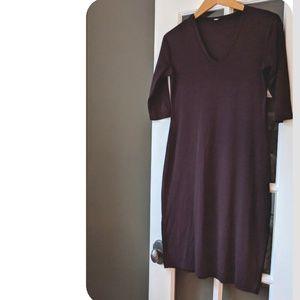 ‼️Anthropologie Dress in Plum size S